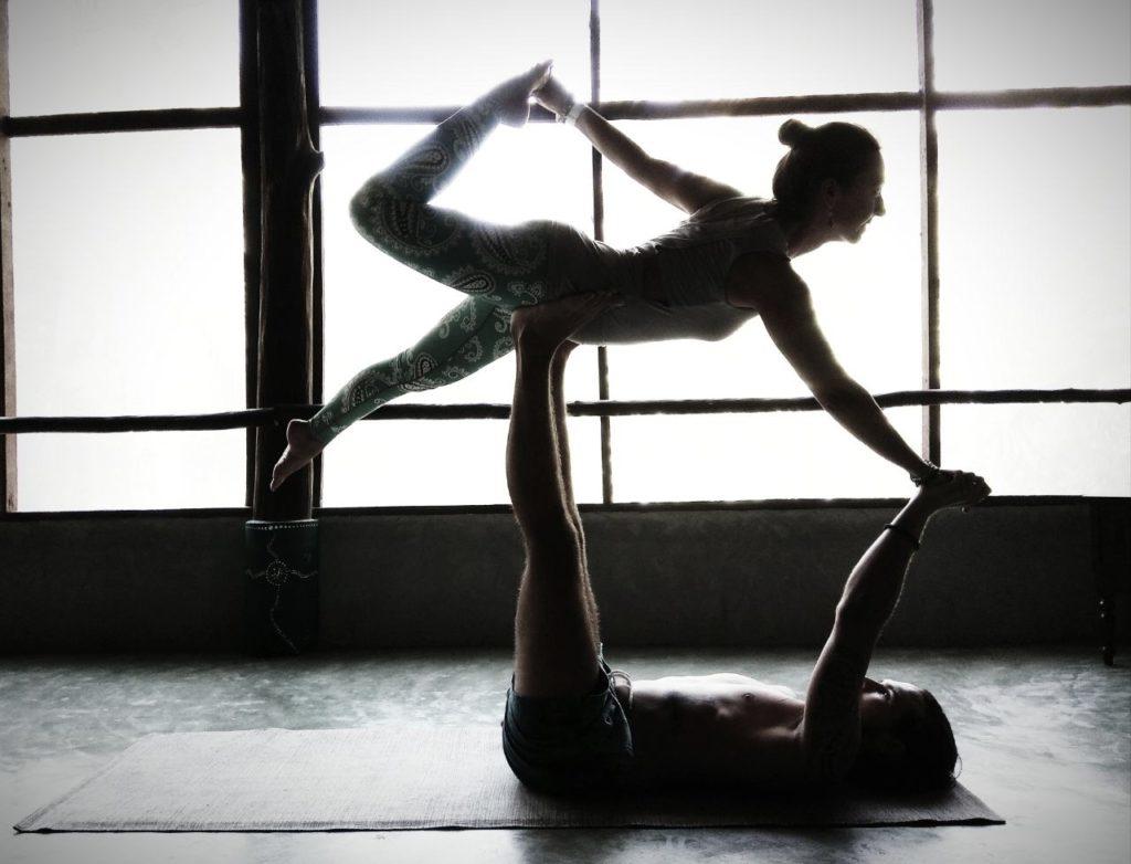 Dhanurasana aka Bow Pose Yoga